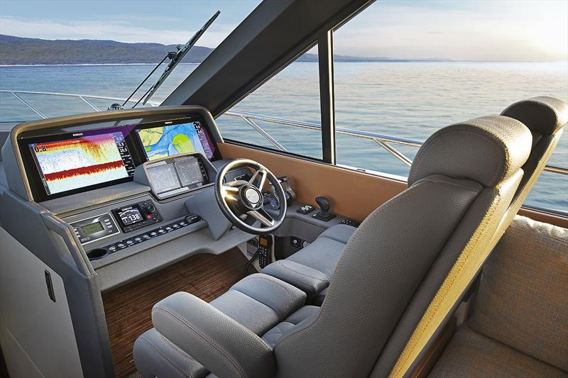 Maritimo's very new X50R photo copyright Maritimo taken at  and featuring the Power boat class