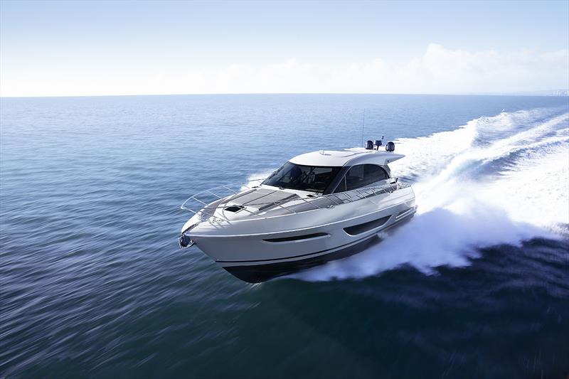 Maritimo's very new and enhanced X50R  photo copyright Maritimo taken at  and featuring the Power boat class