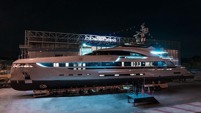 Rossinavi Vector 50 motor yacht EIV - photo © Michele Chiroli