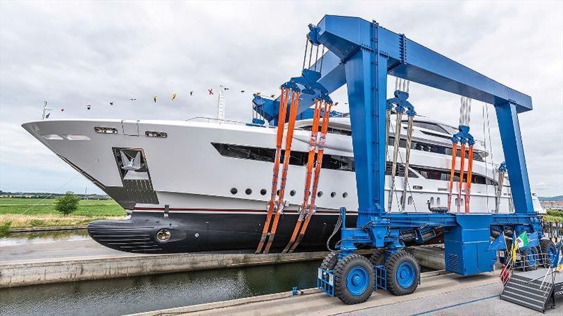 Rossinavi 52m motor yacht Florentia - photo © Michele Chiroli