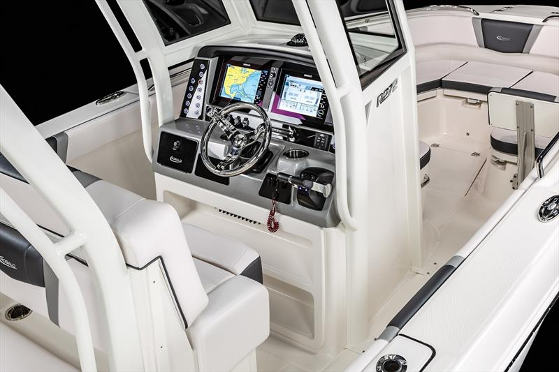 Simrad partners with Chaparral and Robalo photo copyright Andrew Golden taken at  and featuring the Power boat class