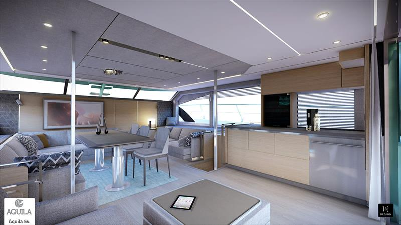 Aquila 54 - photo © Aquila Boats