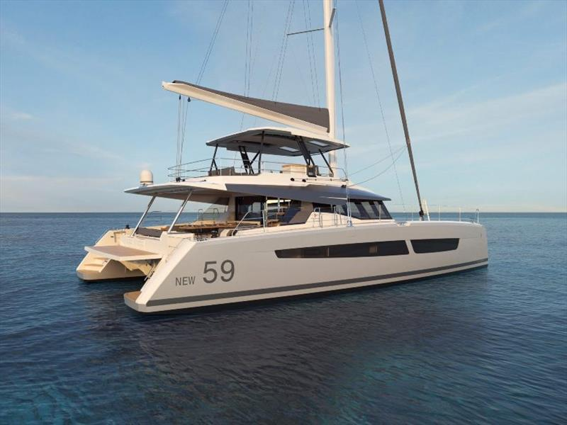 Fountaine Pajot's New 59 - photo © Multihull Solutions