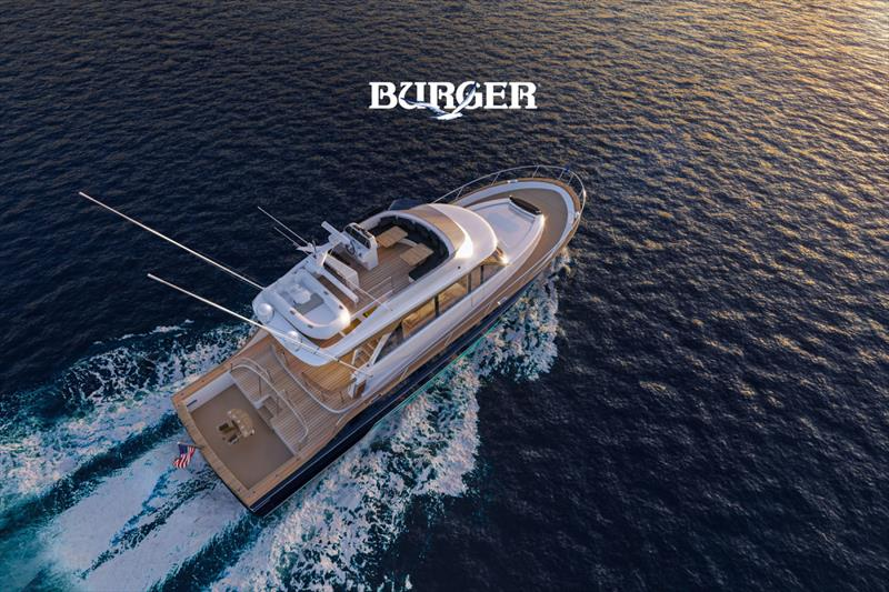 Burger 63 Sportfishing Motor Yacht - photo © Burger Boat Company