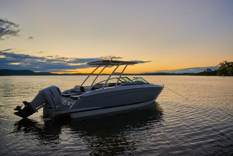 Cobalt Boats new R6 Outboard sport runabout - photo © Cobalt Boats