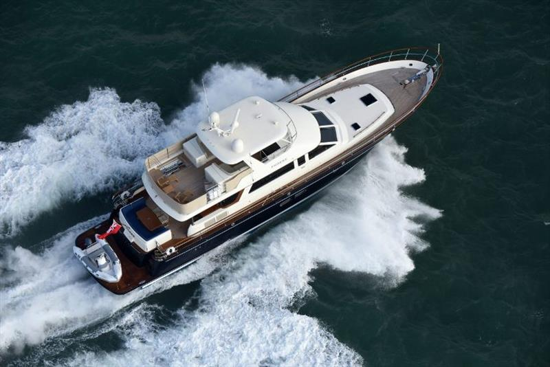 Hunt Ocean 76 photo copyright Hunt Yachts taken at  and featuring the Power boat class