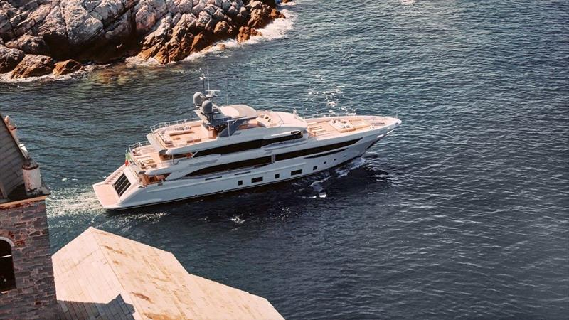 Benetti Diamond 145 photo copyright JOBDV taken at  and featuring the Power boat class