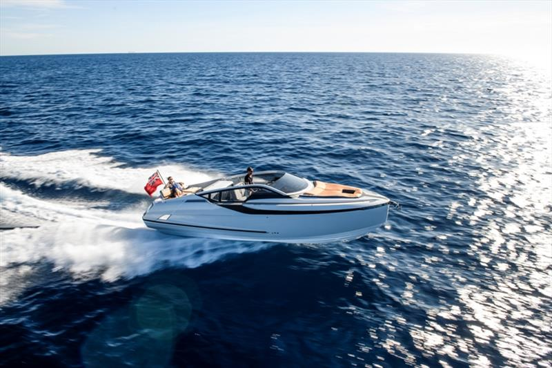 F-Line 33 photo copyright Fairline Yachts taken at  and featuring the Power boat class