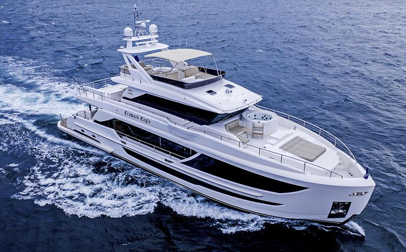 Horizon Yachts FD92 photo copyright Horizon Yachts taken at  and featuring the Power boat class