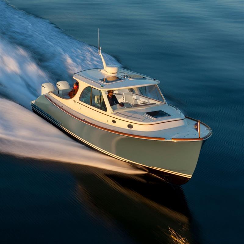 Hinckley 35 - photo © Hinckley Yachts