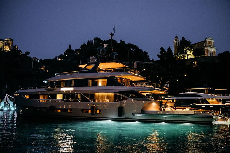 Benetti Oasis 40M photo copyright Benetti taken at  and featuring the Power boat class