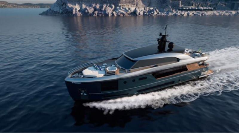 Azimut Magellano 30Metri photo copyright Azimut Yachts taken at  and featuring the Power boat class
