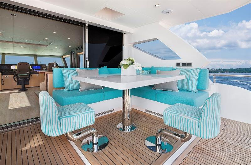 Horizon FD90 Motor Yacht photo copyright Horizon Yachts taken at  and featuring the Power boat class