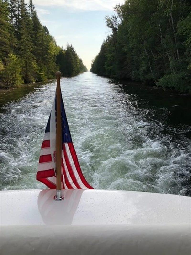 The Trent Severn waterway has 45 locks and took Roger and Laura from Lake Ontario into the Georgian Bay - photo © Riviera Australia