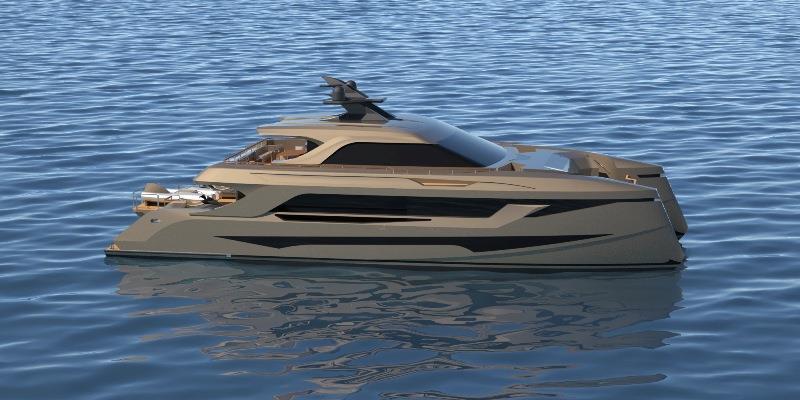 Echo Yachts et MMYD annoncent une nouvelle conception de yacht à moteur de catamaran SP30 entièrement personnalisable pour FLIBS 2020
