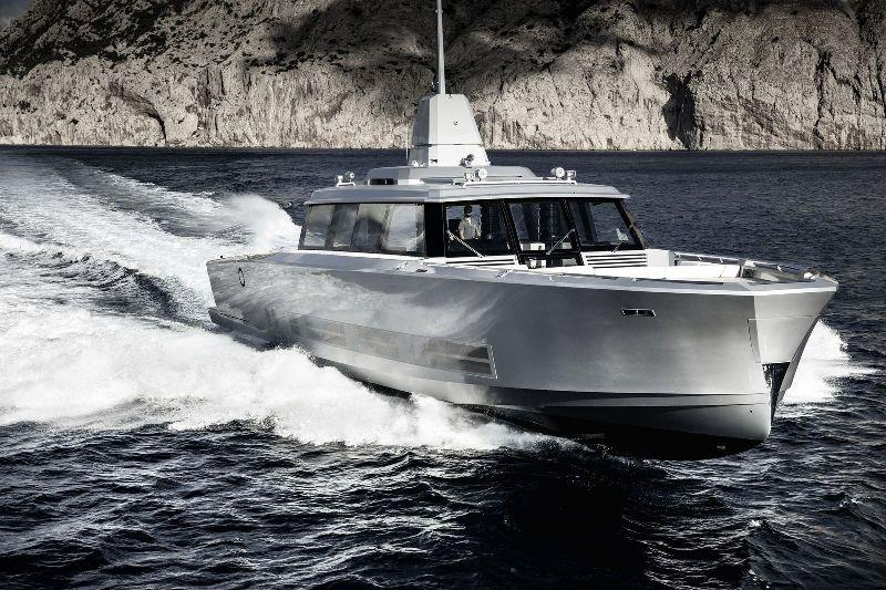 27m Atlantico photo copyright Guillaume Plisson taken at  and featuring the Power boat class