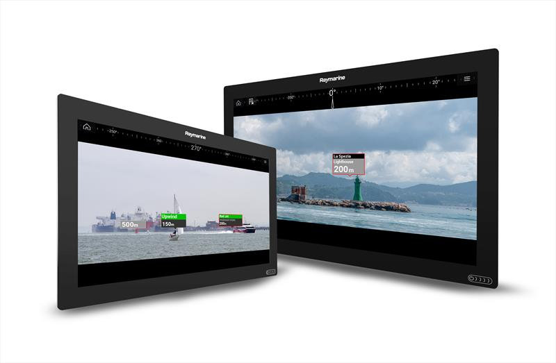 Raymarine ClearCruise Augmented Reality Navigation Technology - photo © Raymarine