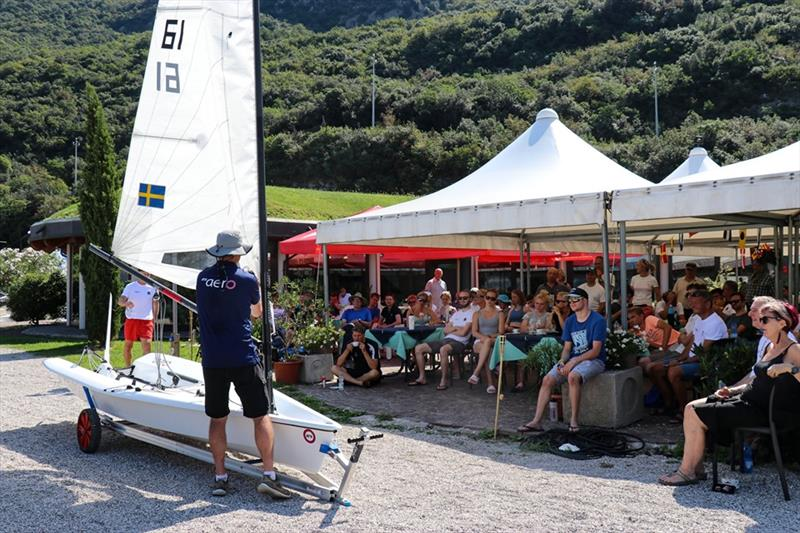 2019 RS Aero European Championship - Day 1 photo copyright RS Sailing taken at Fraglia Vela Malcesine and featuring the RS Aero class