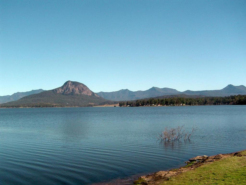 Lake Moogerah - great for fishing © Department of Fisheries Queensland http://www.dpi.qld.gov.au
