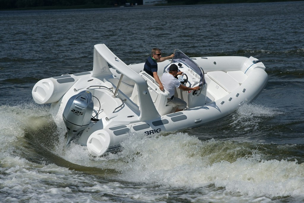 The new Eagle 650 is a versatile day boat for families or high quality tender. © Sirocco Marine