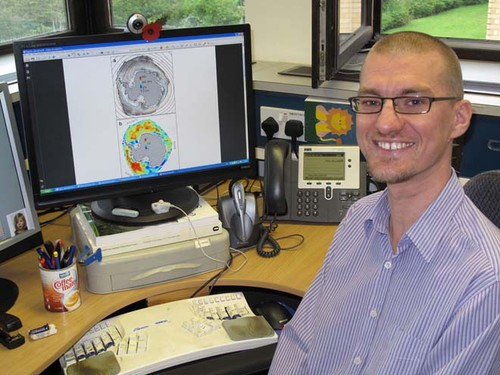 Dr Paul Holland - Ocean Modeller at British Antarctic Survey © British Antarctic Survey http://www.antarctica.ac.uk