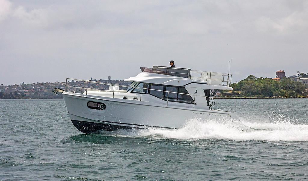 Gliding along with the Beneteau Swift Trawler 30 © John Curnow