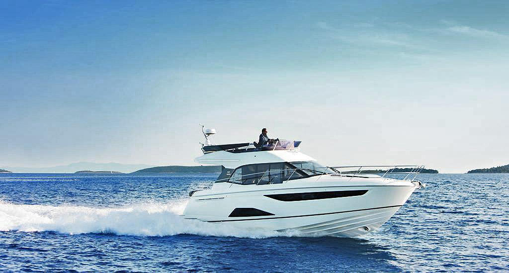 Bavaria's R40 is capable of just under 40 knots © Bavaria Yachts Australia http://www.bavariasail.com.au