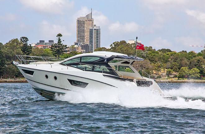 Superb ride is a hallmark of the Air Step® hull - Beneteau GT40 ©  John Curnow