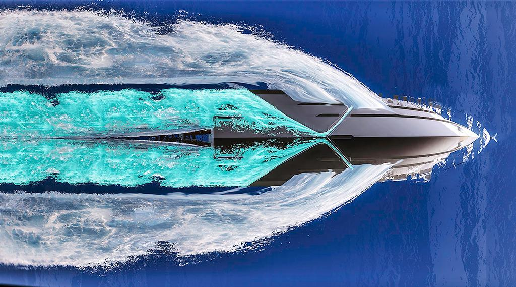 Beneteau's Air Step® is very impressive. © Beneteau http://www.beneteau.com/