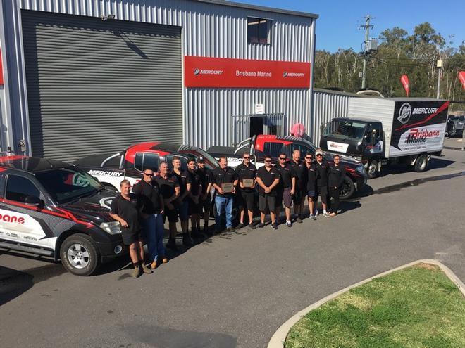 Mercury Outboard Dealers >> Brisbane Marine Named Australian Dealer Of The Year