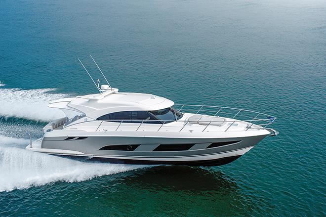Glory days for the Riviera 4800 Sport Yacht - Riviera 4800 Sport Yacht © Riviera Australia