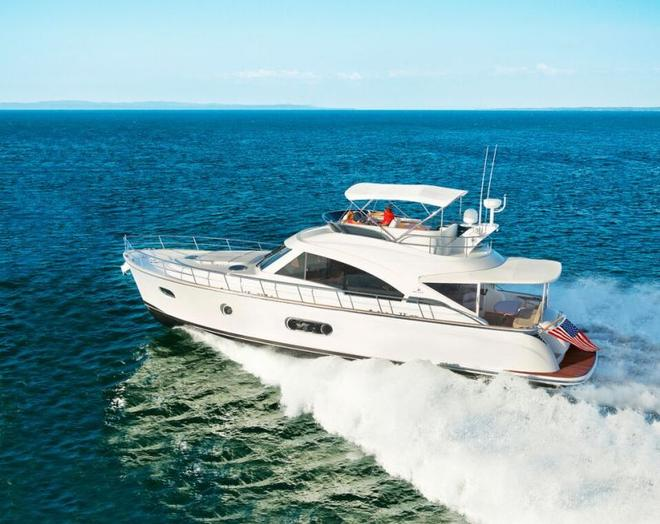 The high-performance hull of the Belize 54 Daybridge offers superior sea-keeping © Riviera Australia