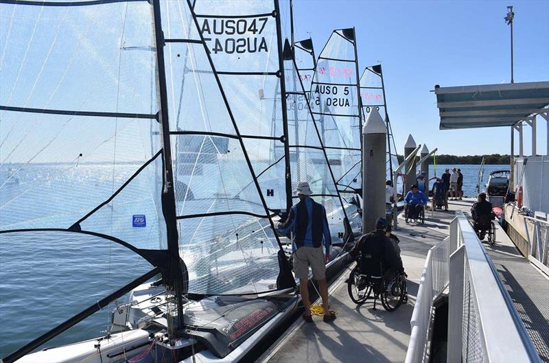 Southport Yacht Club's Hollywell club has a strong Sailability program and has excellent facilities for sailors or all abilities - Australian Para Sailing Championship - photo © David Staley